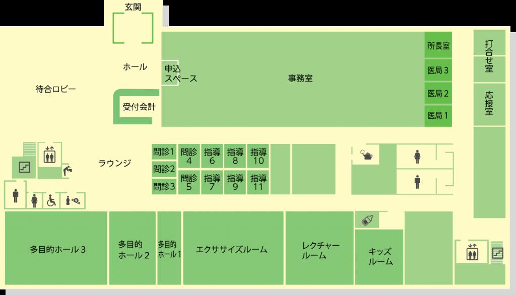 1階フロア図